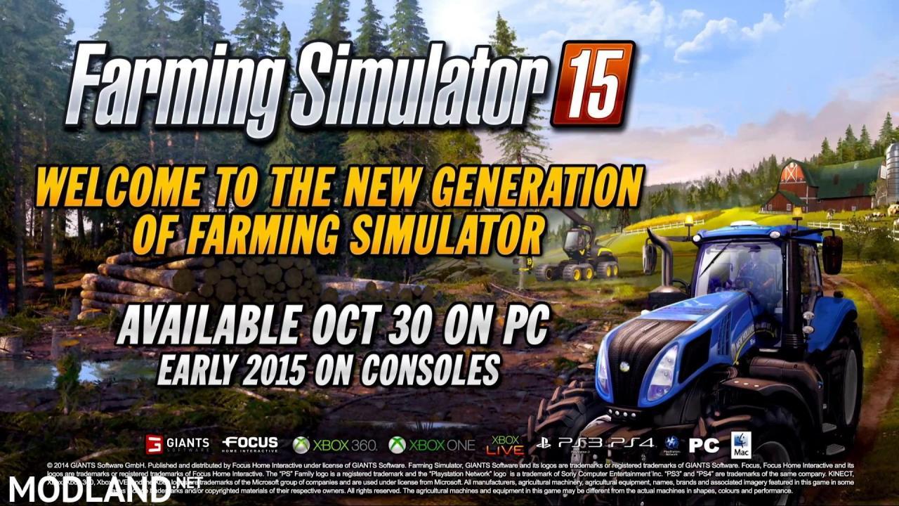Farming Simulator 2015 - Gameplay Teaser 3