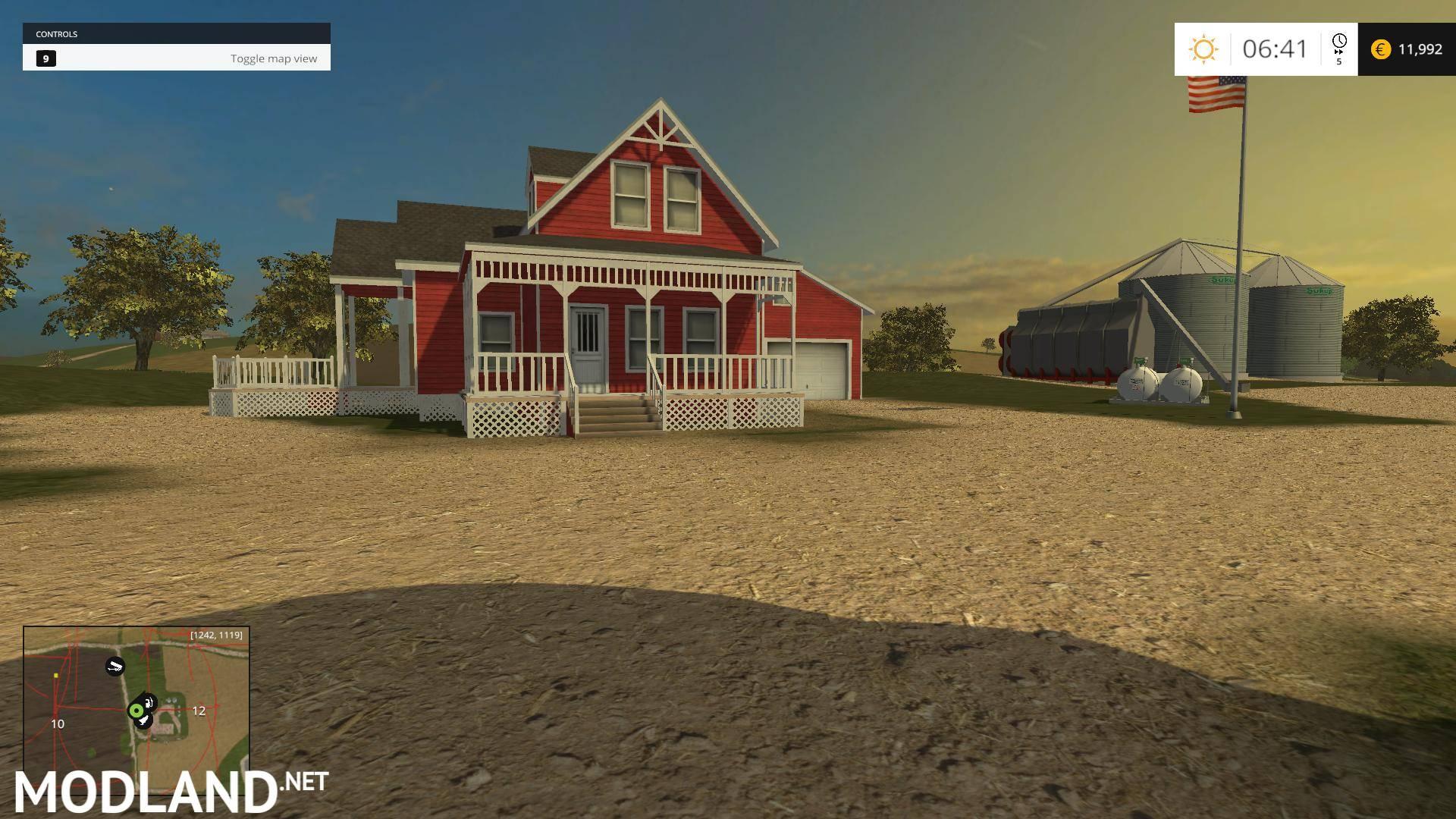 Ne Iowa Map 15 v 1 0 mod for Farming Simulator 2015 / 15