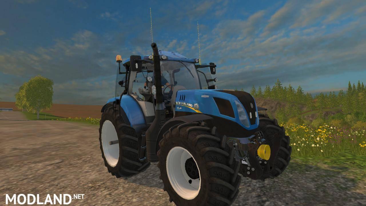 New Holland T7 240 V 1 0 Mod For Farming Simulator 2015