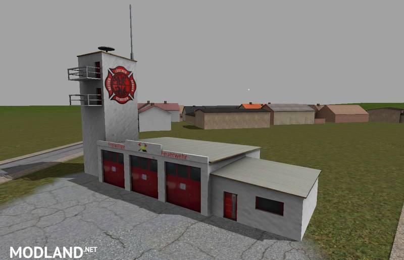 Fire Station Mod V 1 0 Mod For Farming Simulator 2015 15