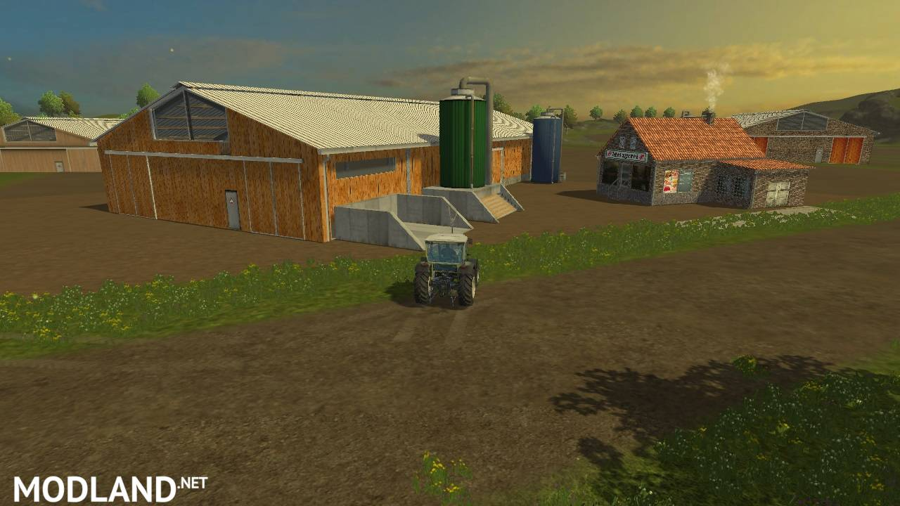 Placeable Pigs And Cattle Mod For Farming Simulator 2015