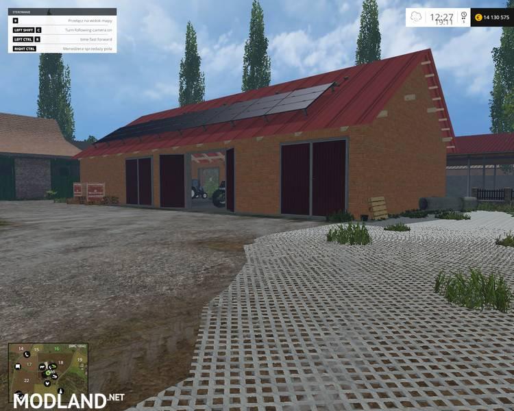 скачать моды на гараж для Farming Simulator 2015 - фото 2