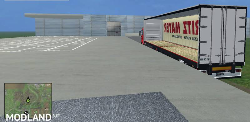 Logistics center v 2 2 placeable mod for Farming Simulator 2015 / 15