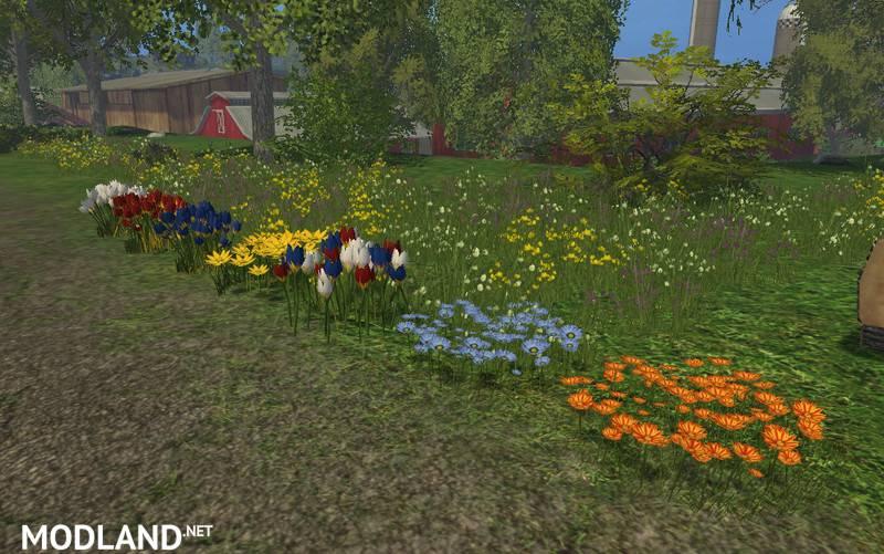 Placeable Flowers