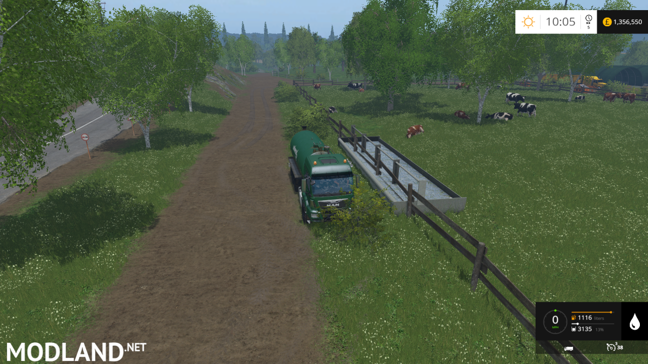 Cow Water Mod