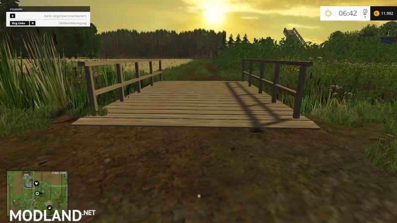 Shelby Gt500 2016 >> Small Wooden Bridge Mod v 1.0 mod for Farming Simulator ...