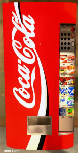 Coca Cola Machine Placeable, 1 photo