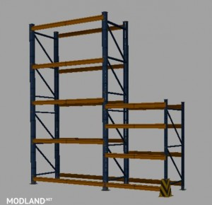 Construction Box for a Storage Rack v 1.0 by THP1985, 1 photo