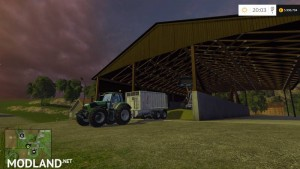Covered Fahrsilo Mod - Direct Download image
