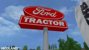 Placeable Ford Sign