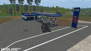 Exon Placeable Gas Station v 1.0 by Eagle355th, 1 photo