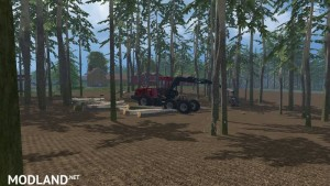 Pine Trees with Marks Mod v 0.1  - Direct Download image