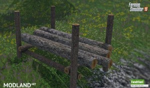 Placeable Timber Storage Mod, 2 photo