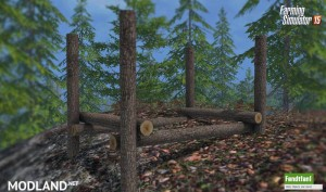 Placeable Timber Storage Mod, 3 photo