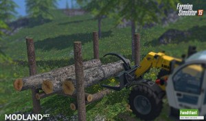 Placeable Timber Storage Mod, 5 photo