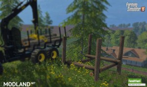 Placeable Timber Storage Mod, 4 photo