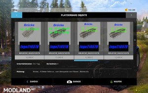 Platzierbares Brucken Pack New v 1.0, 15 photo