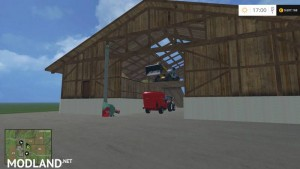 Shed with Hay Blower v 1.0, 2 photo