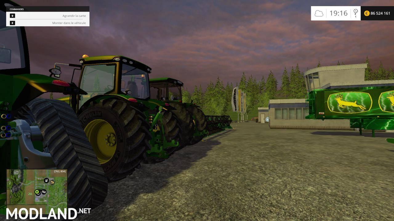 John Deere Mega Pack mod for Farming Simulator 2015 / 15