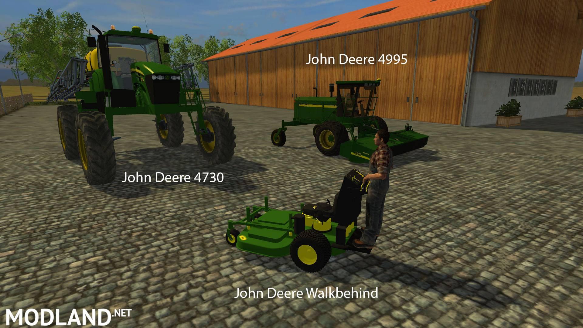 FS15 Big Mods Pack V6 John Deere Pack v 2.0 mod for ...