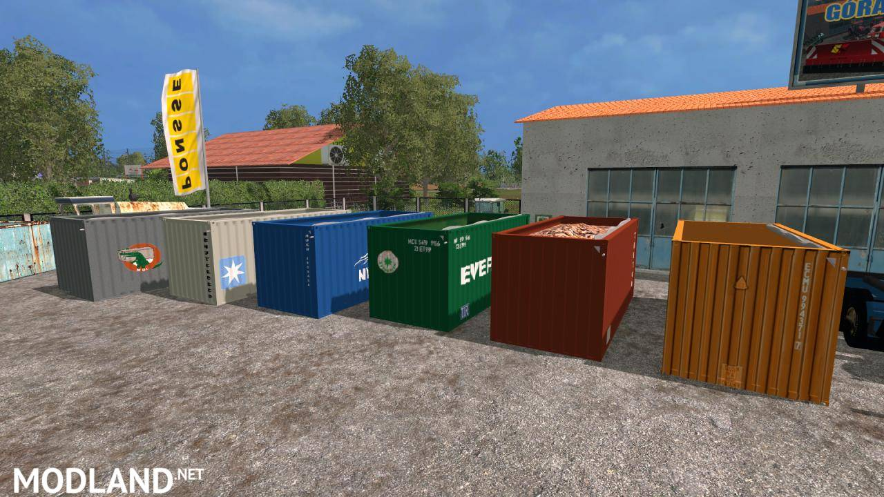 Container Pack by DRE3178