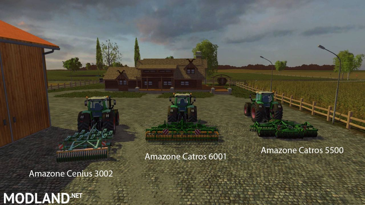 FS15 Big Mods Pack V7 Amazone Pack