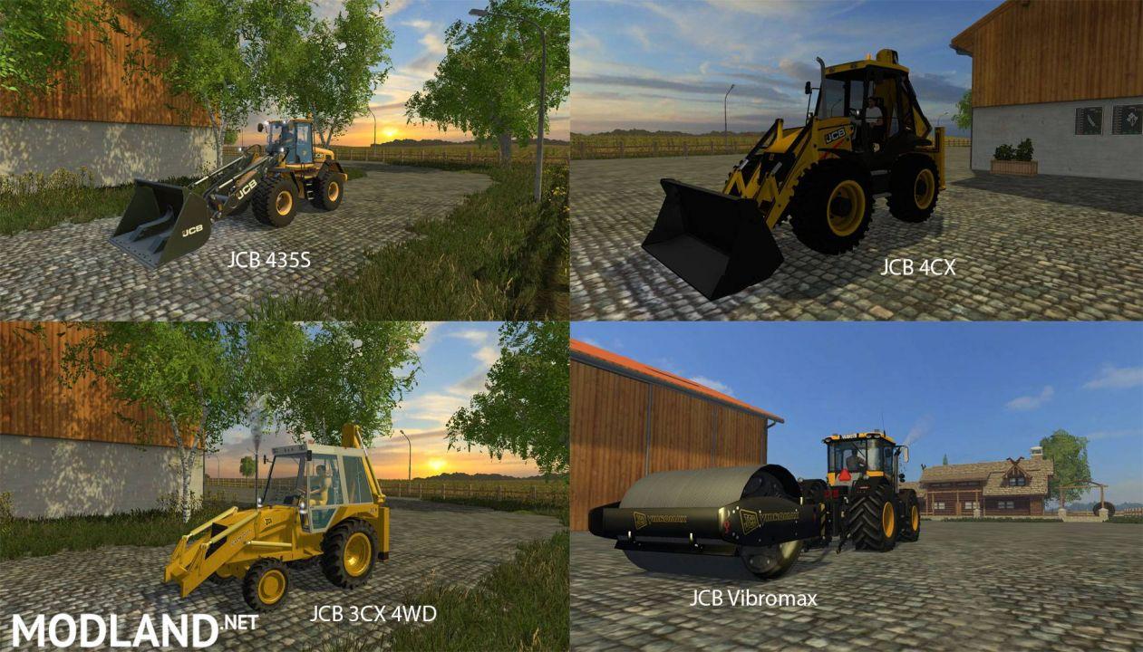 FS 15 Big Mods Pack 8 JCB Pack