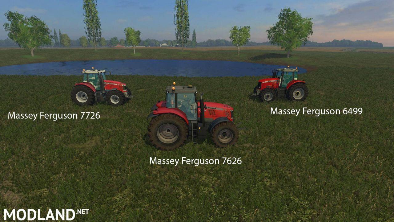 FS 15 Big Mods Pack V8 Massey Ferguson Pack