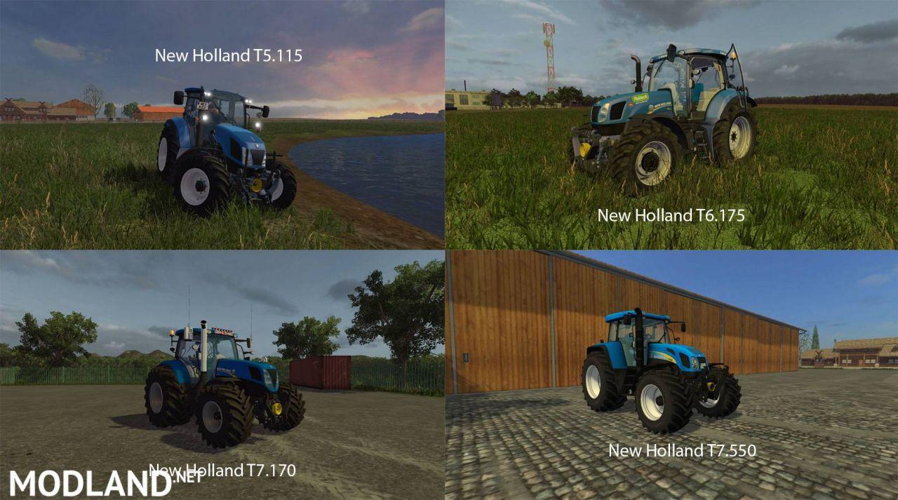 FS15 Big Mods Pack V16 New Holland Pack
