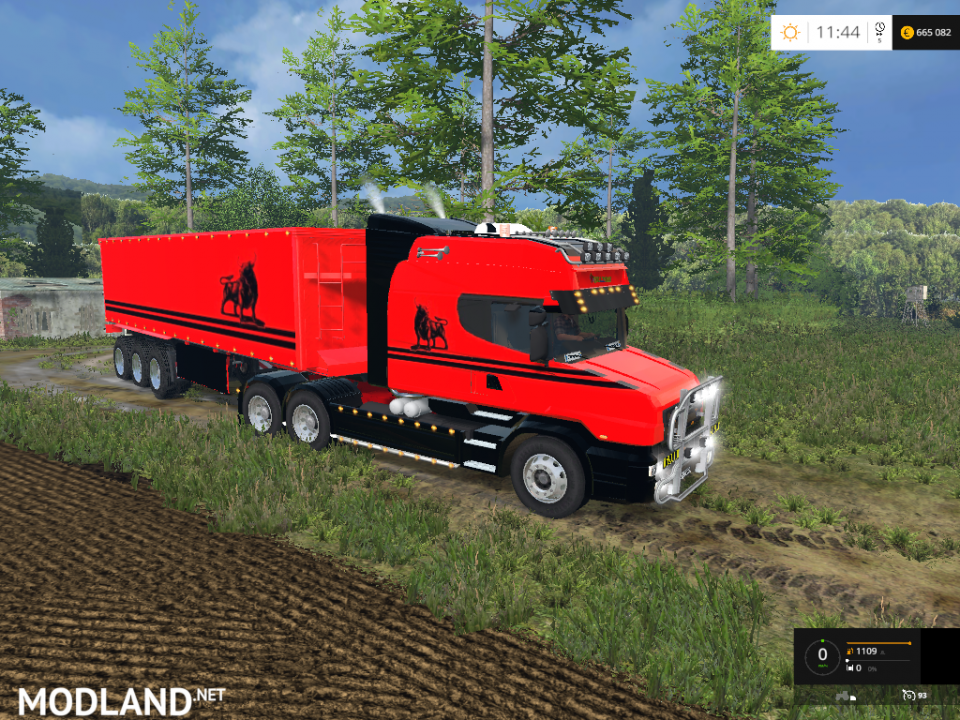 Scania T164-580 Long Line Pack Bit Machine
