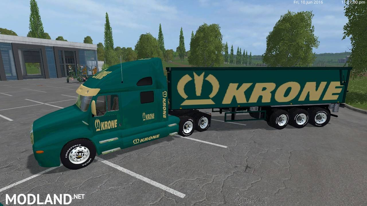 Krone Cat Truck V2 and Krone Cat Semi Trailer v 2.0 by Eagle355th