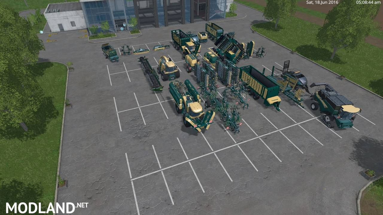 Krone, Newholland, Horch Mix Pack v 2.0 by Eagle355th