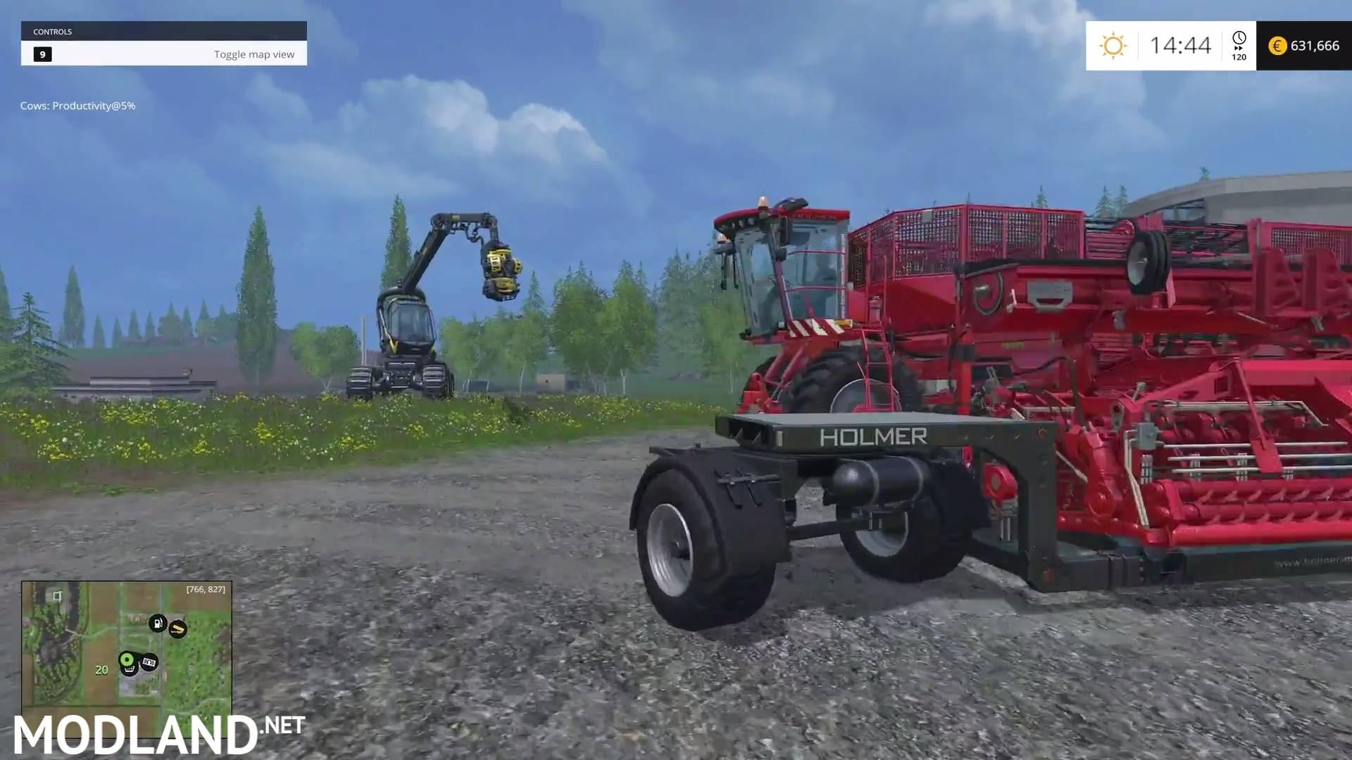 Holmer DLC mod for Farming Simulator 2015 / 15 | FS, LS 2015 mod