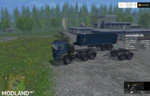 Tatra Phönix 6x6 Agro Truck + Trailer + Dolly