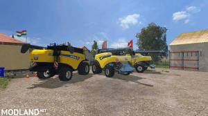 New Holland Combines Pack