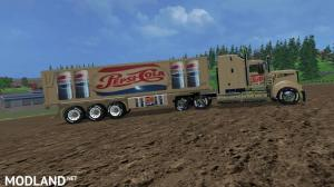PepsiCola and CocaCola Truck's and Trailers, 15 photo