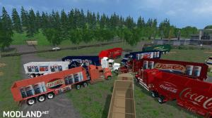 PepsiCola and CocaCola Truck's and Trailers, 1 photo