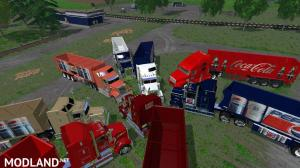 PepsiCola and CocaCola Truck's and Trailers, 6 photo