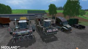 Camoflage Grimme PACK 4, 1 photo