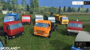 KamAZ and Trailer Pack
