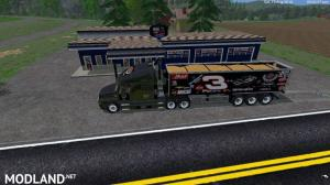 Dale Earnhart Cat Truck and Trailer v 1.0 By Eagle355th, 1 photo