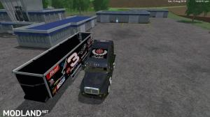 Dale Earnhart Cat Truck and Trailer v 1.0 By Eagle355th, 4 photo