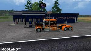 Grave Digger PeterBilt 379 truck & Trailer & Volvo Truck & Trailer v 1.1 by Eagle355th, 9 photo