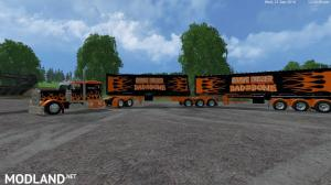Grave Digger PeterBilt 379 truck & Trailer & Volvo Truck & Trailer v 1.1 by Eagle355th, 5 photo