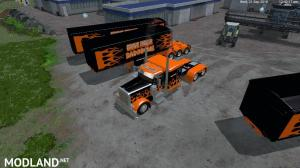 Grave Digger PeterBilt 379 truck & Trailer & Volvo Truck & Trailer v 1.1 by Eagle355th, 7 photo