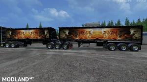 Grave Digger PeterBilt 379 truck & Trailer & Volvo Truck & Trailer v 1.1 by Eagle355th, 16 photo