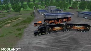 Grave Digger PeterBilt 379 truck & Trailer & Volvo Truck & Trailer v 1.1 by Eagle355th, 2 photo
