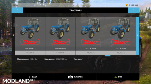 zetor modpack v 1.0 fs15, 2 photo