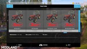 zetor modpack v 1.0 fs15, 4 photo