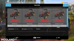 zetor modpack v 1.0 fs15, 5 photo